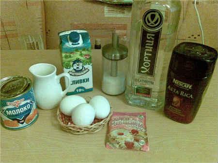 ингредиенты для бейлиса