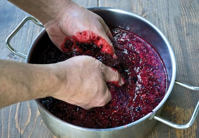 Изготовление домашнего вина из чёрной смородины в домашних условиях