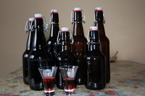 в бутыльках