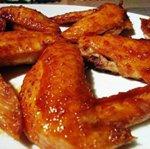 острые куриные крылья
