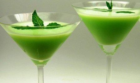 зеленоватый коктейль