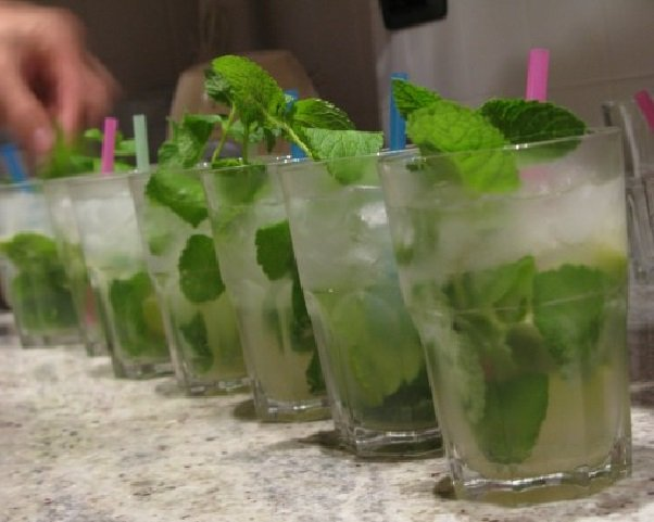 состав алкогольного мохито