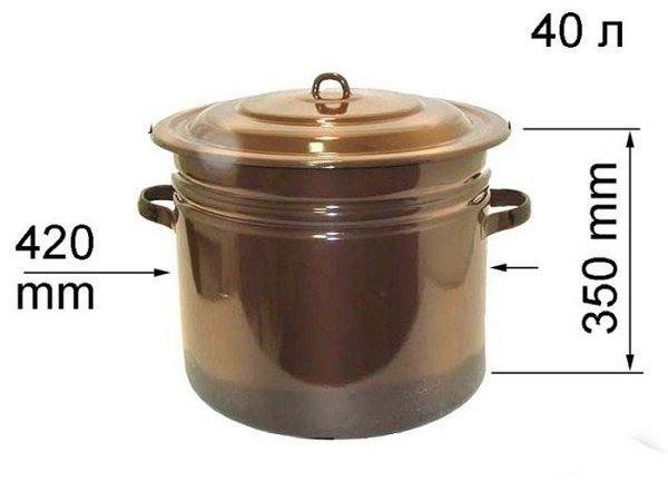 кастрюля 40 литров