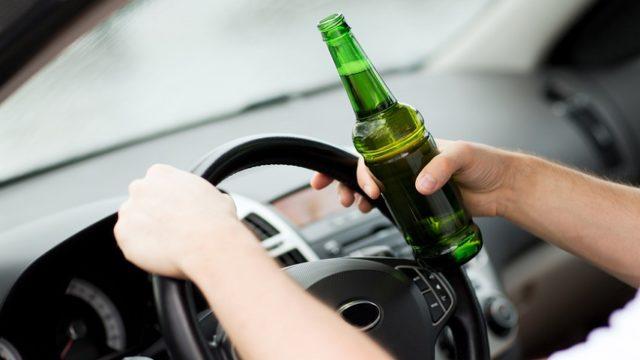 с пивом за руль