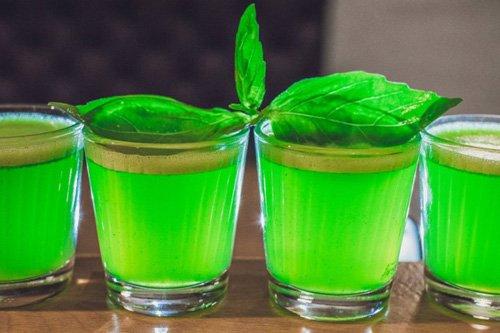 зеленый ликер