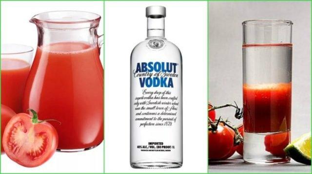 томатный сок и водка