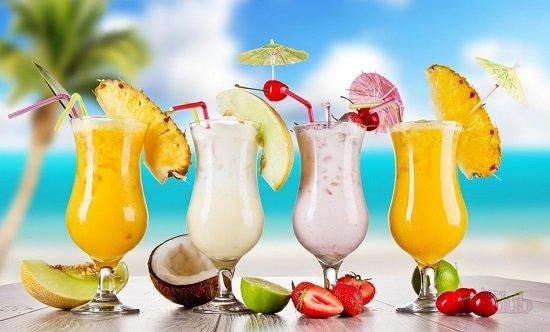 молочные коктейли с алкоголем