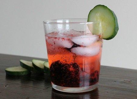 Кукумбер коктейль