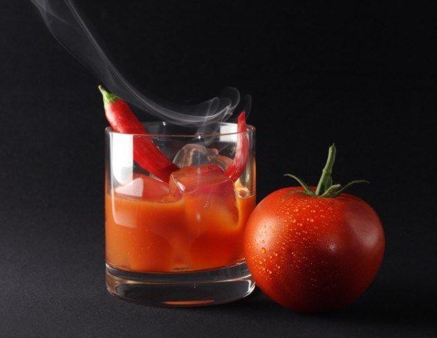 томат с алкоголем