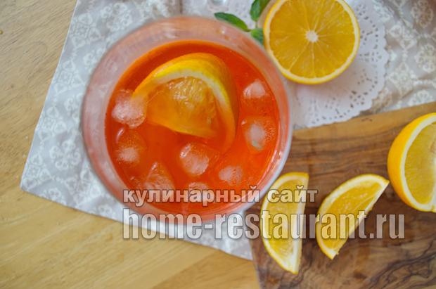 выжатый апельсин