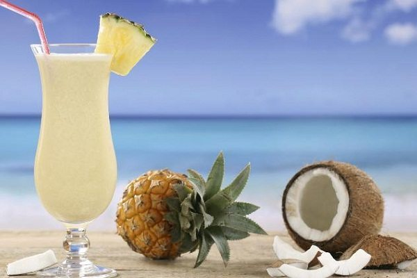 коктейль на пляже