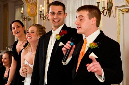 Тост для свадьбы от свидетеля короткие