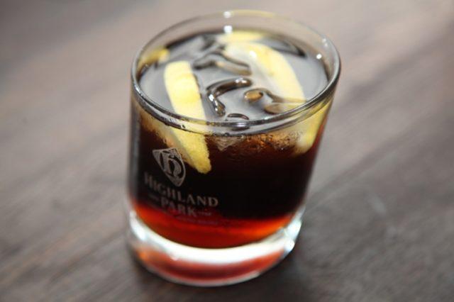 виски с колой