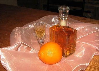 Настойка на самогоне с кофе и апельсином
