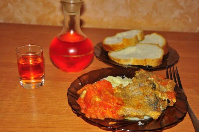 перцовка и закуска