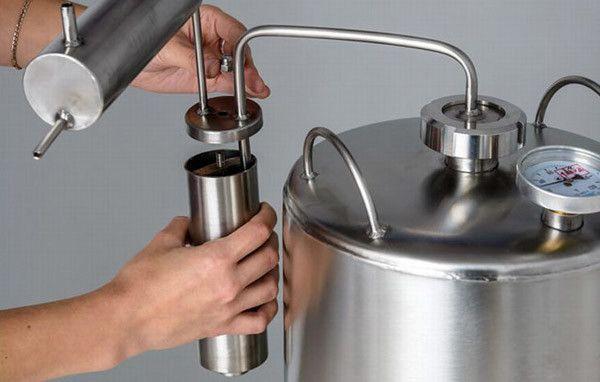 Что будет если перегнать водку через самогонный аппарат самогонный аппарат в дзержинске