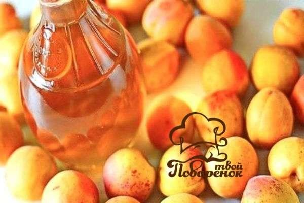 из абрикосового варенья