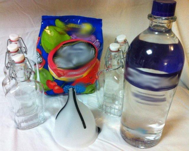 ингредиенты для приготовления водки