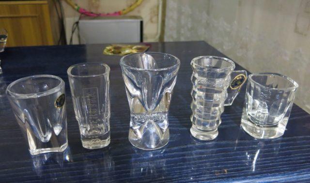рюмки для питья