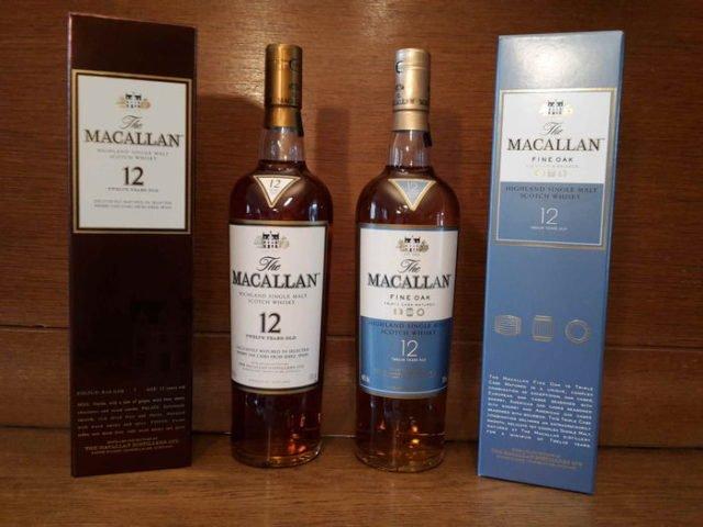 macallan 12 виды