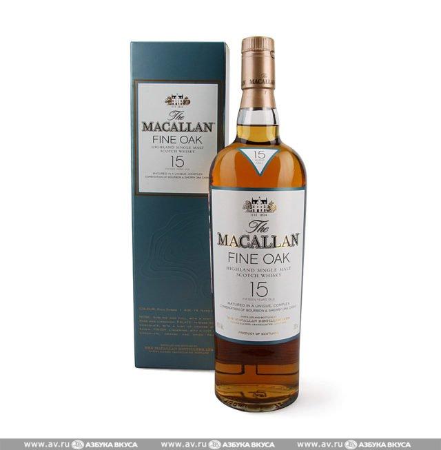 Macallan Fine Oak 15 Y.O.