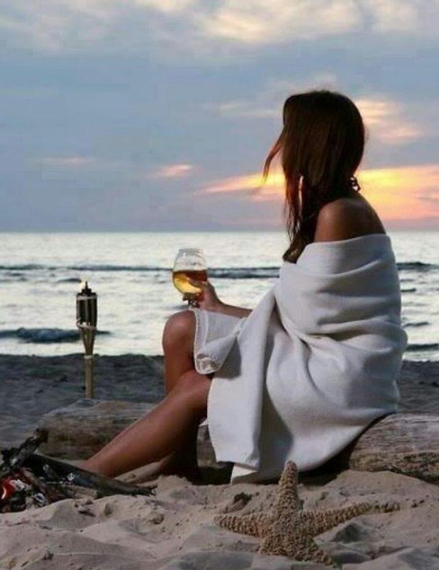 виски возле океана