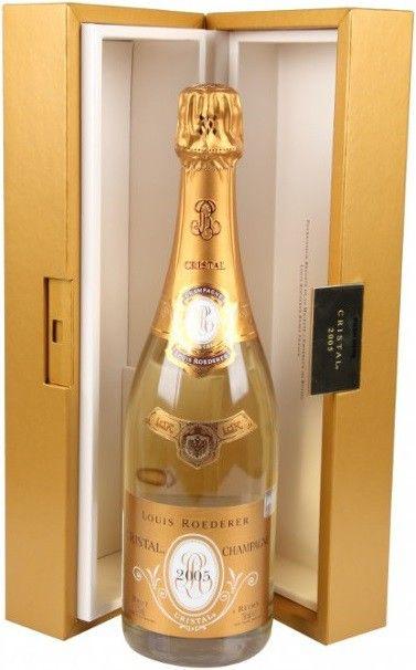 Почему на шампанское Кристалл цена такая высокая?