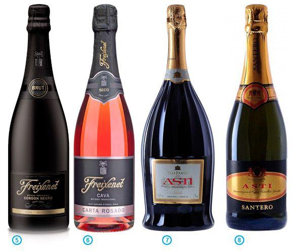 Шампанское Cristal против испанской кавы