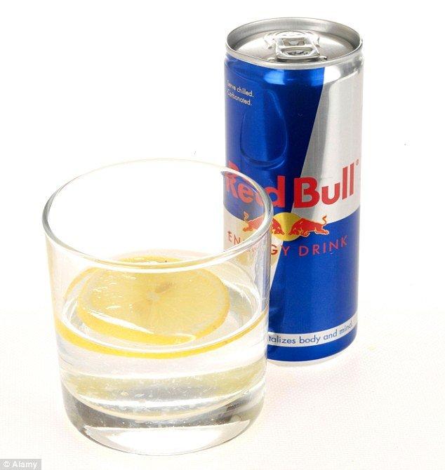 водка и редбул