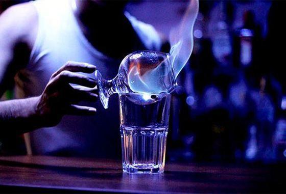 С водой или льдом