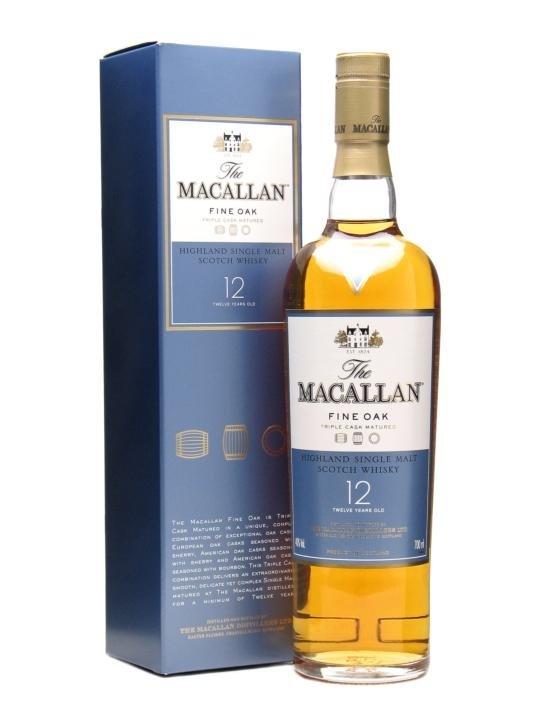 Виски Макаллан 12 лет Файн Оак