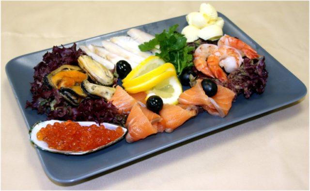 закуска рыба
