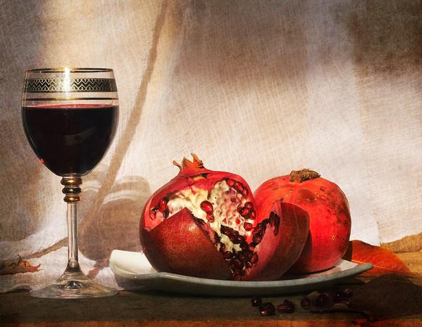 гранатовое вино домашнее