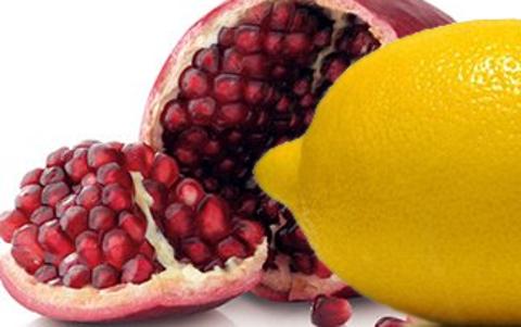 гранат и лимон