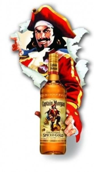 пират Капитан Морган