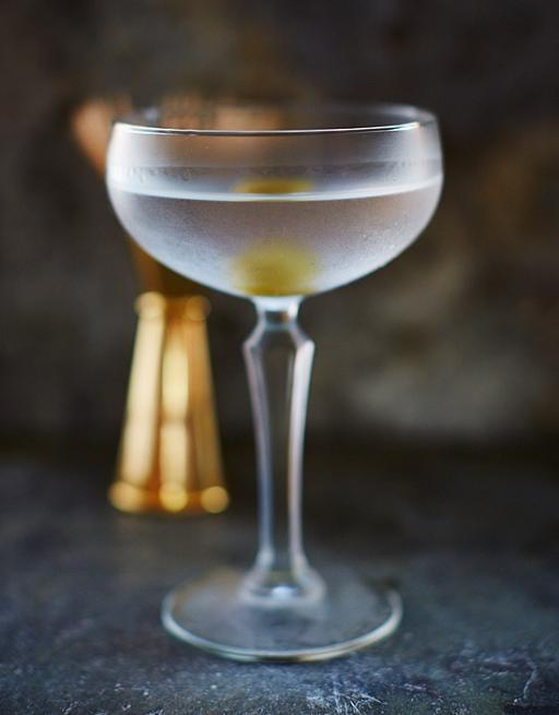 коктейль джин и мартини
