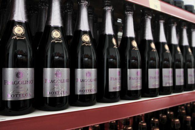 шампанское Фраголино в магазине