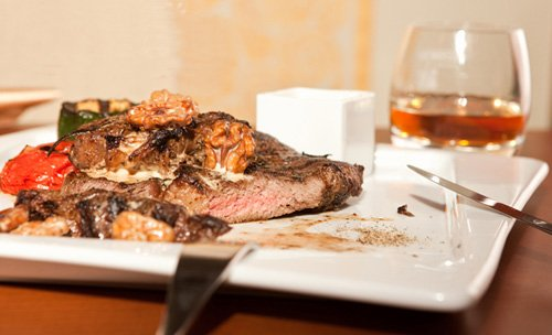виски и мясо