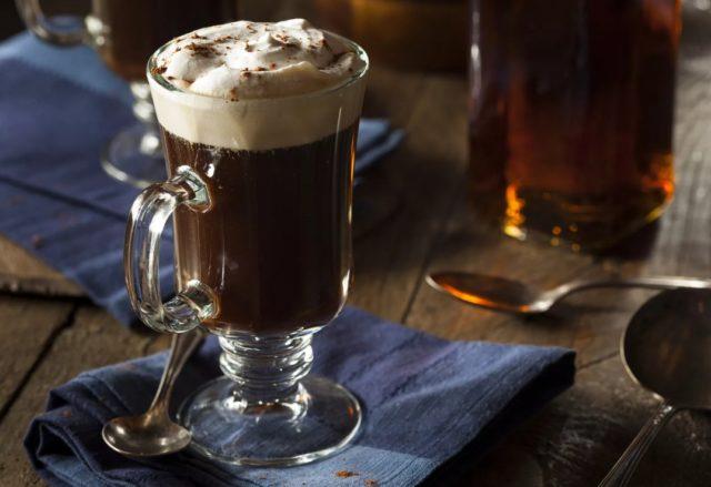 коктейль Ирландский кофе