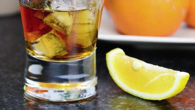 Куба Либре с лимоном