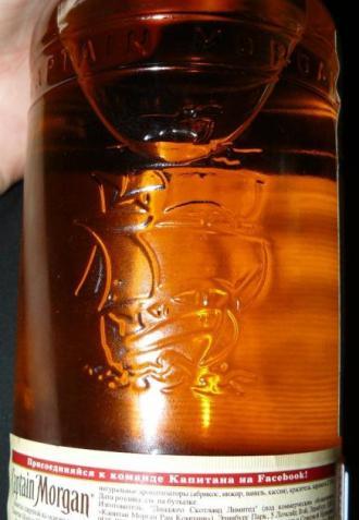 оригинальная бутылка рома