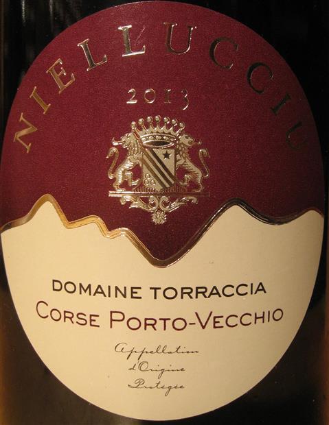 Vin de Corse Porto Vecchio