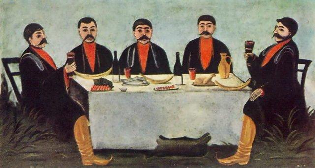 грузинский тост за хозяев