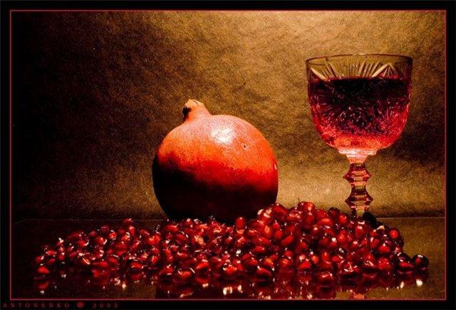 польза гранатового вина
