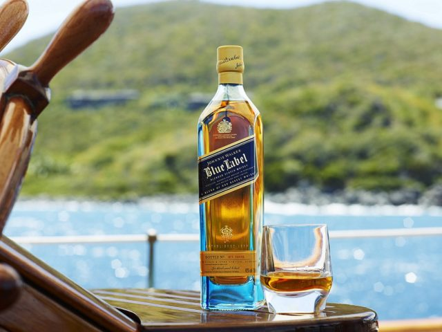 реклама Johnnie Walker Blue Label