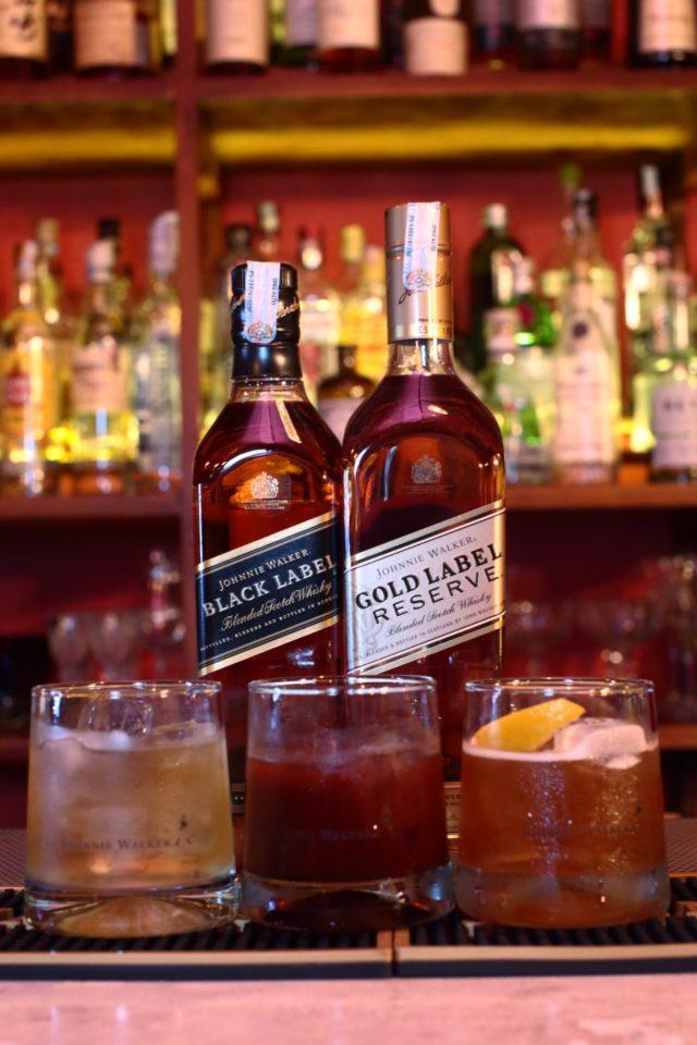 коктейли с виски Джонни Уокер