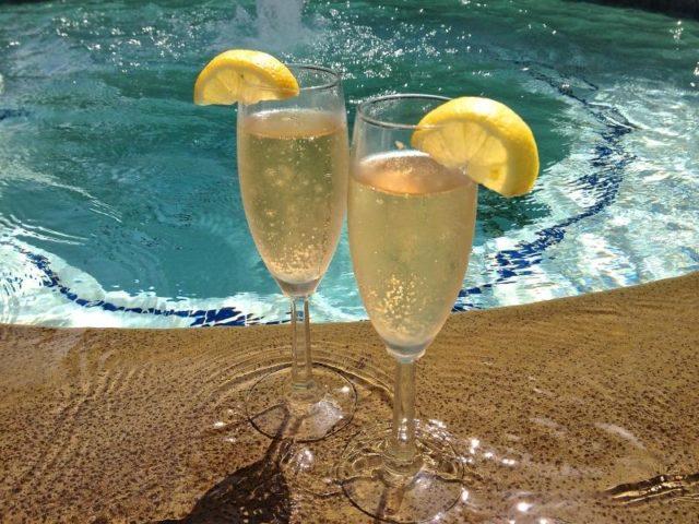Лимончелло с шампанским
