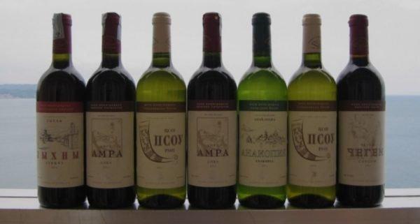 абхазские вина