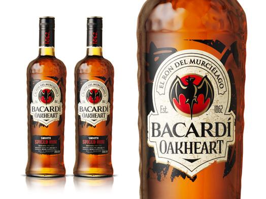 Bacardi Oak Heart