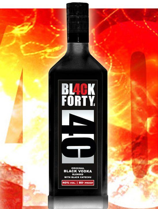 "Водка ""Black Forty"""